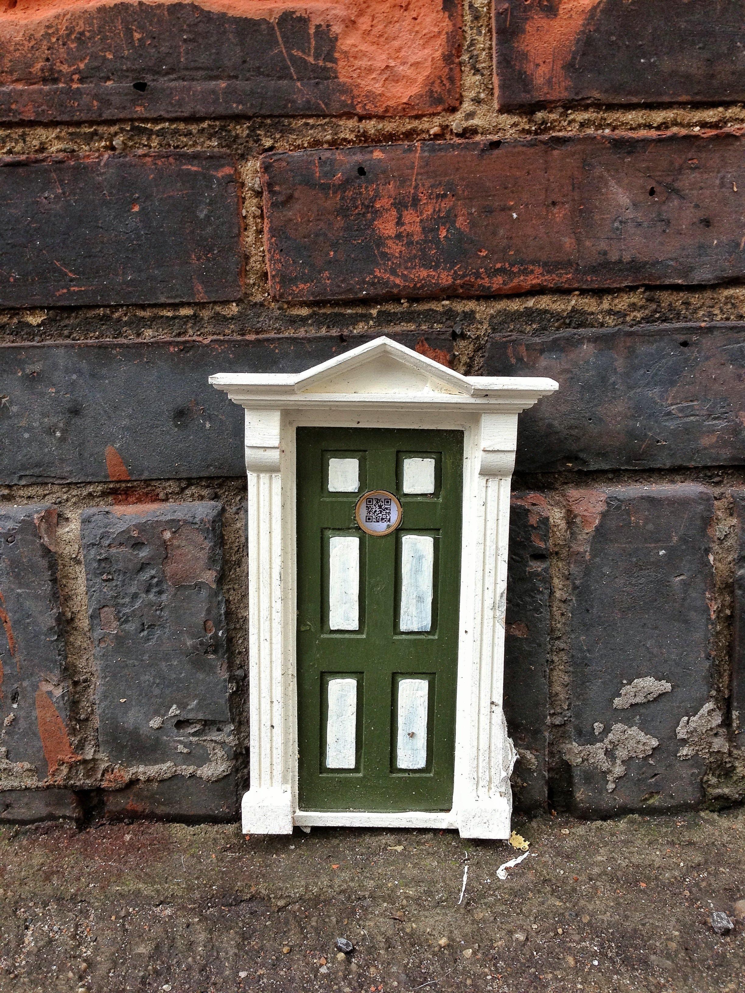 a little tiny door on 11th street