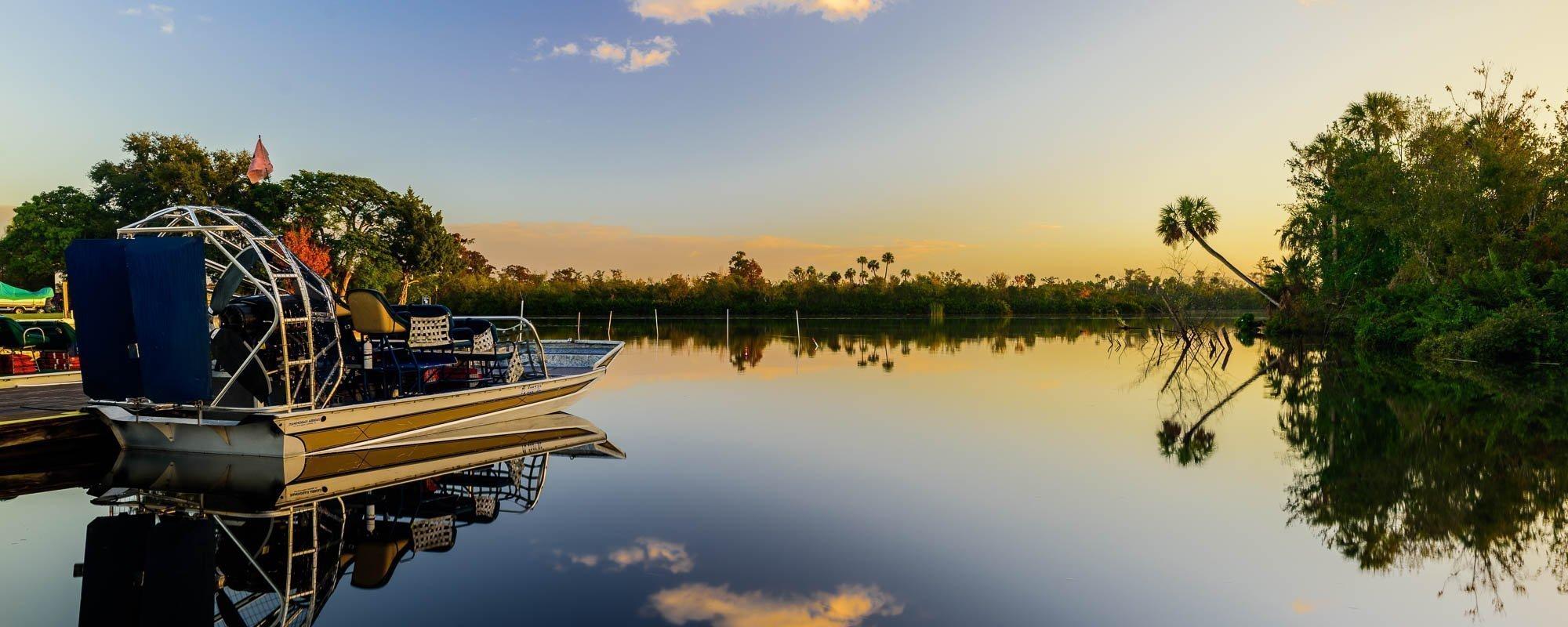 Sunrise over Peace River, FL