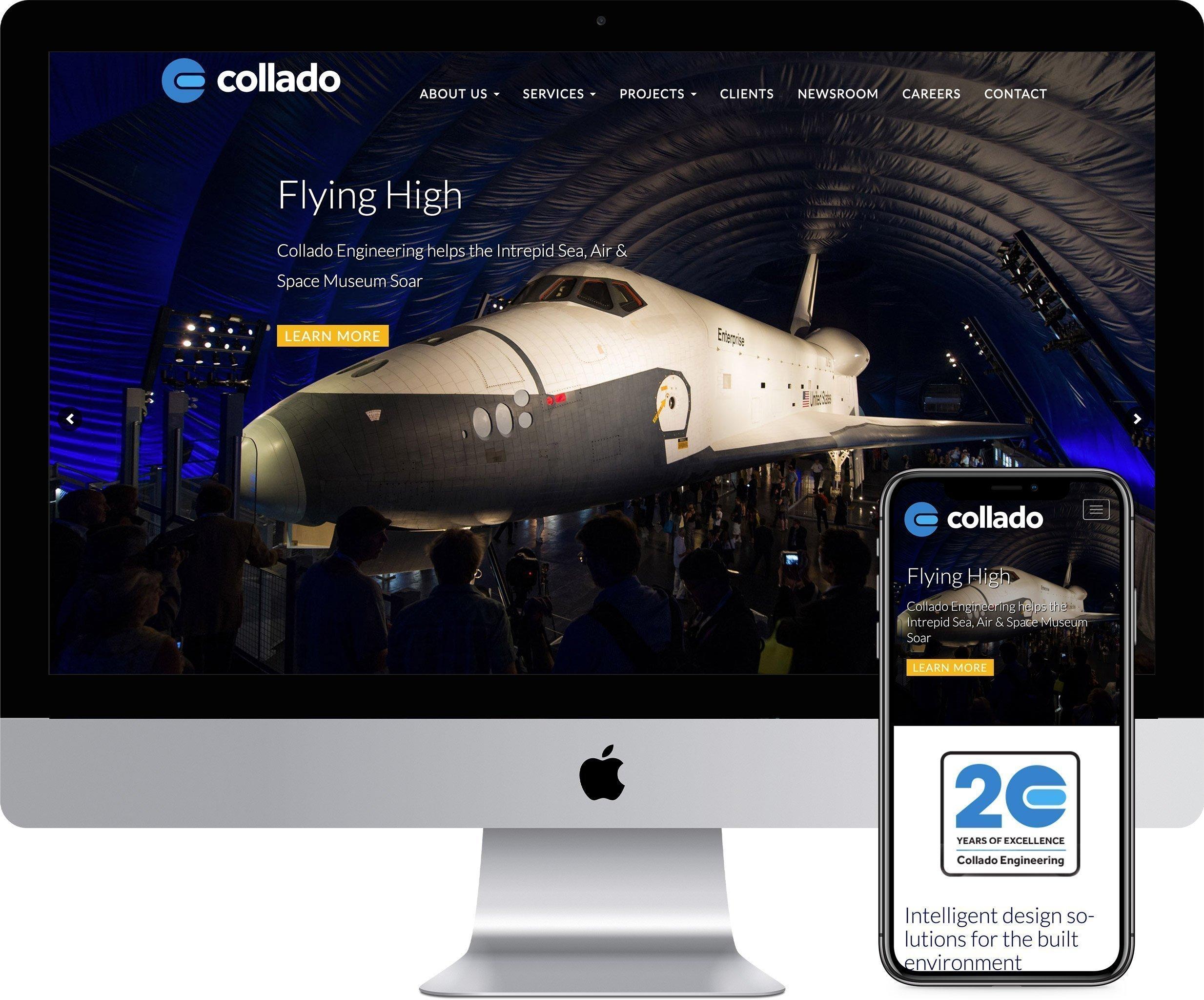 Collado Engineering Website