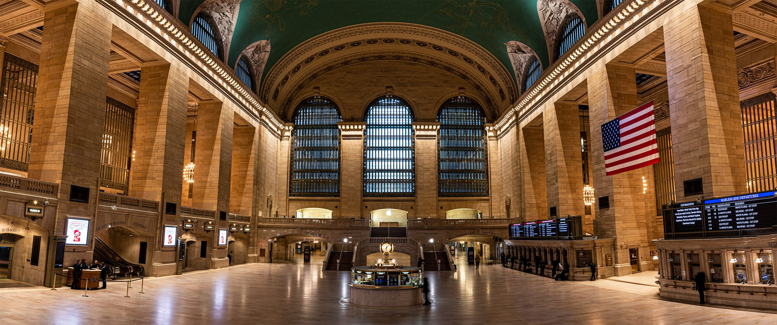 Empty Grand Central Station